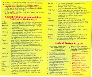 daftar produk herbalife dan manfaat herbalife