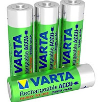 Batterie ricaricabili NiMH
