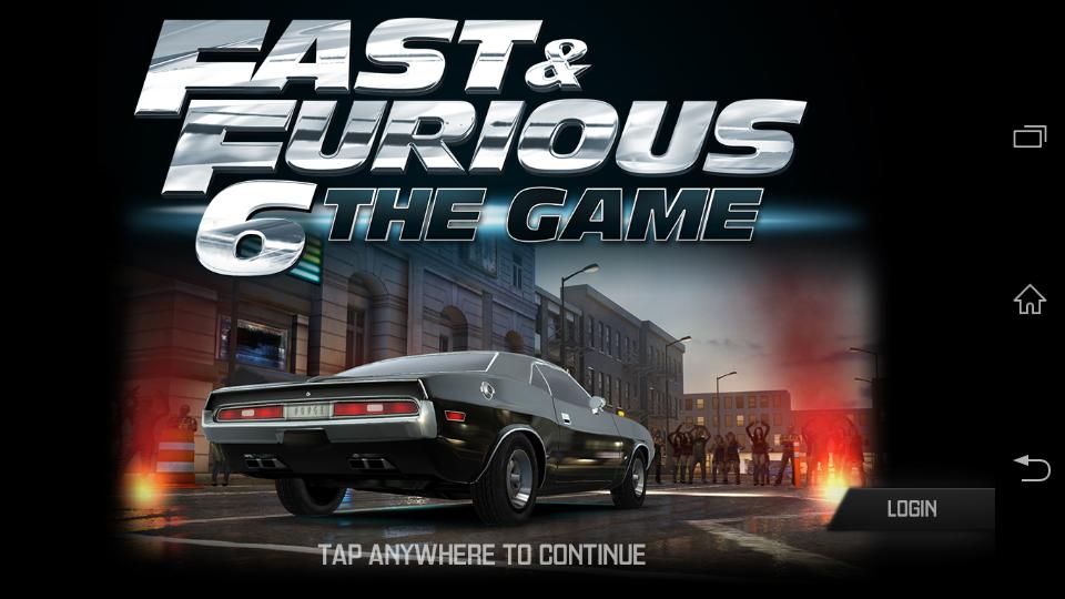 Fast & Furious 6 the Game v4.1.2 Apk+Data
