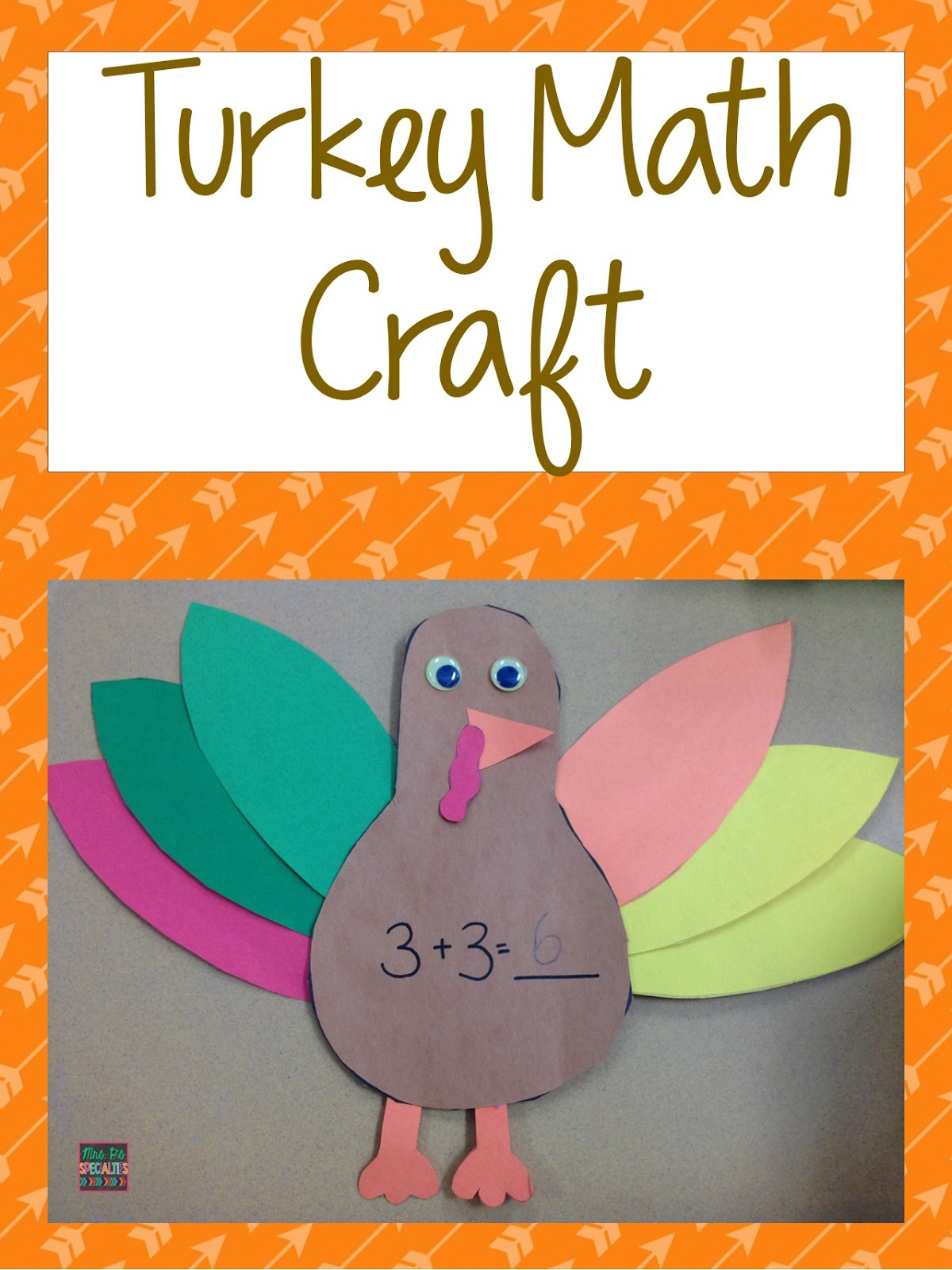 Turkey Math Craft