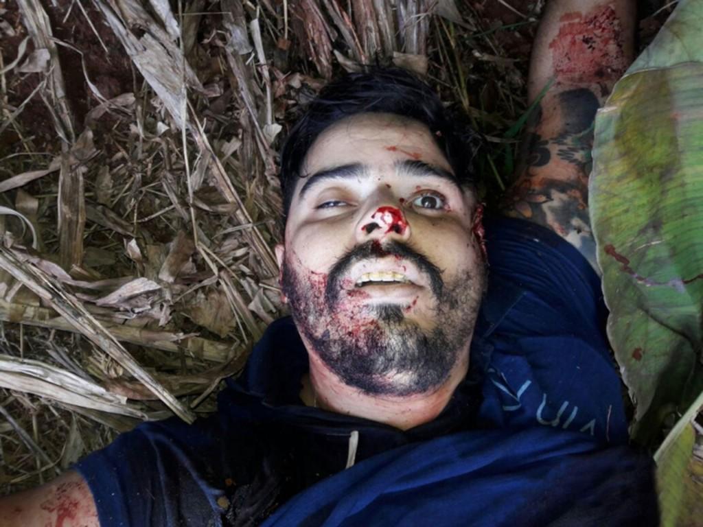 Las impactantes imágenes de la cacería de los ladrones tras cometer un robo