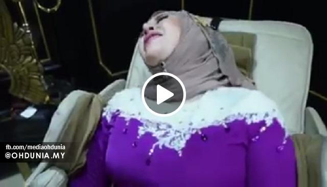 Video Aksi 'Henjut Ala Jimak' Kak Mawar Pula Di Kecam