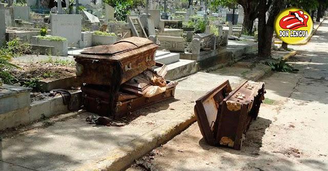 En el Cementerio general del Sur las profanaciones y fiestas con alcohol y niñas prostituidas son a diario