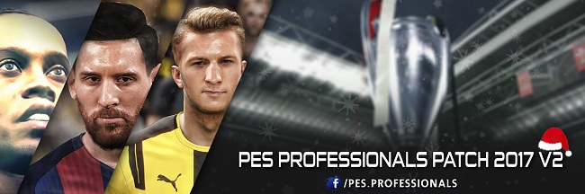 PES Professionals Patch 2017 v2 AIO