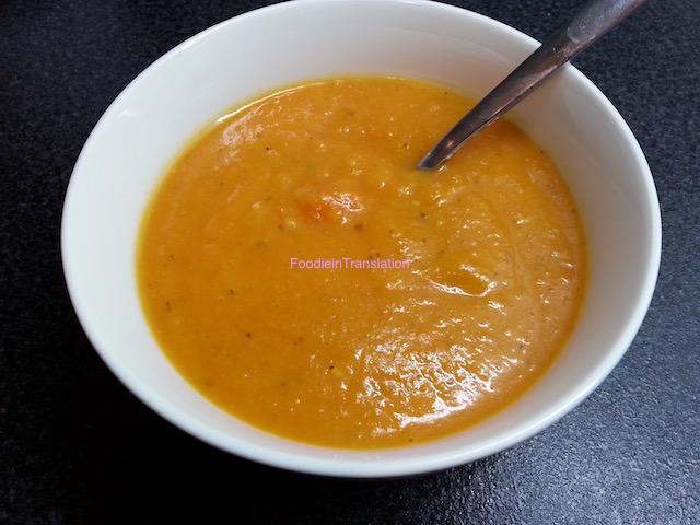 Vellutata arancione