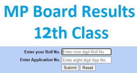 MP Board Results