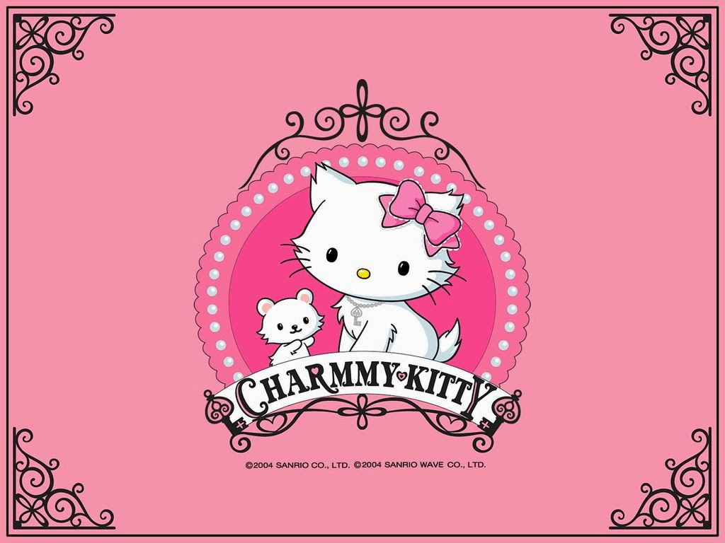 Charmmy Kitty: Tarjetas o Invitaciones para Descargar Gratis.