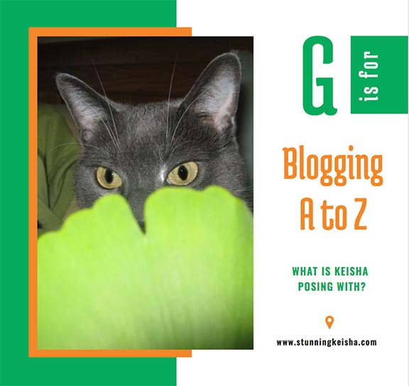 Blogging From A to Z: G is for …