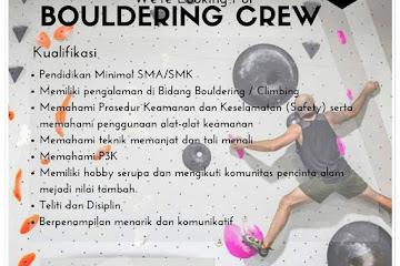 Loker Bandung Bouldering Crew The Parlon