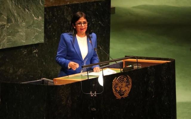 Venezuela presentó en la ONU ubicación de lugares en Colombia donde se encuentran campamentos terroristas
