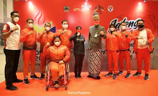 Disemangati Ganjar, 'Spiderwoman' Asal Jateng Targetkan Juara di PON