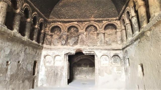 navata chiesa monastero selime