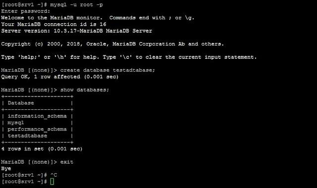 Cara Install mariadb & phpmyadmin di Centos 8 Server
