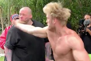Logan Paul slaps