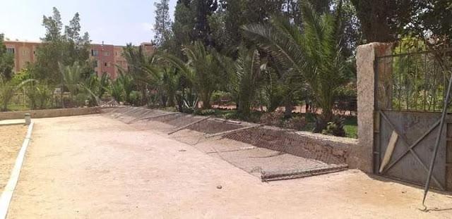 حديقة 3 مارس بتيزنيت ..استياء ساكنة تزنيت بسبب اهمالها و تخريبها...