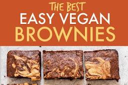 Peanut Butter Banana Brownies {Easy Vegan Brownies}