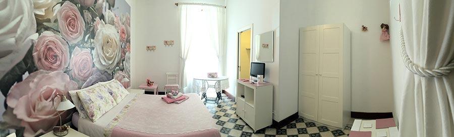 bed and breakfast con tre ampie stanze, ognuna con bagno interno