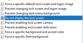 lock screen windows