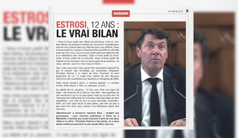 """ENQUÊTE. À Nice, cet incendiaire """"Journal des municipales"""" qui cache bien son jeu"""