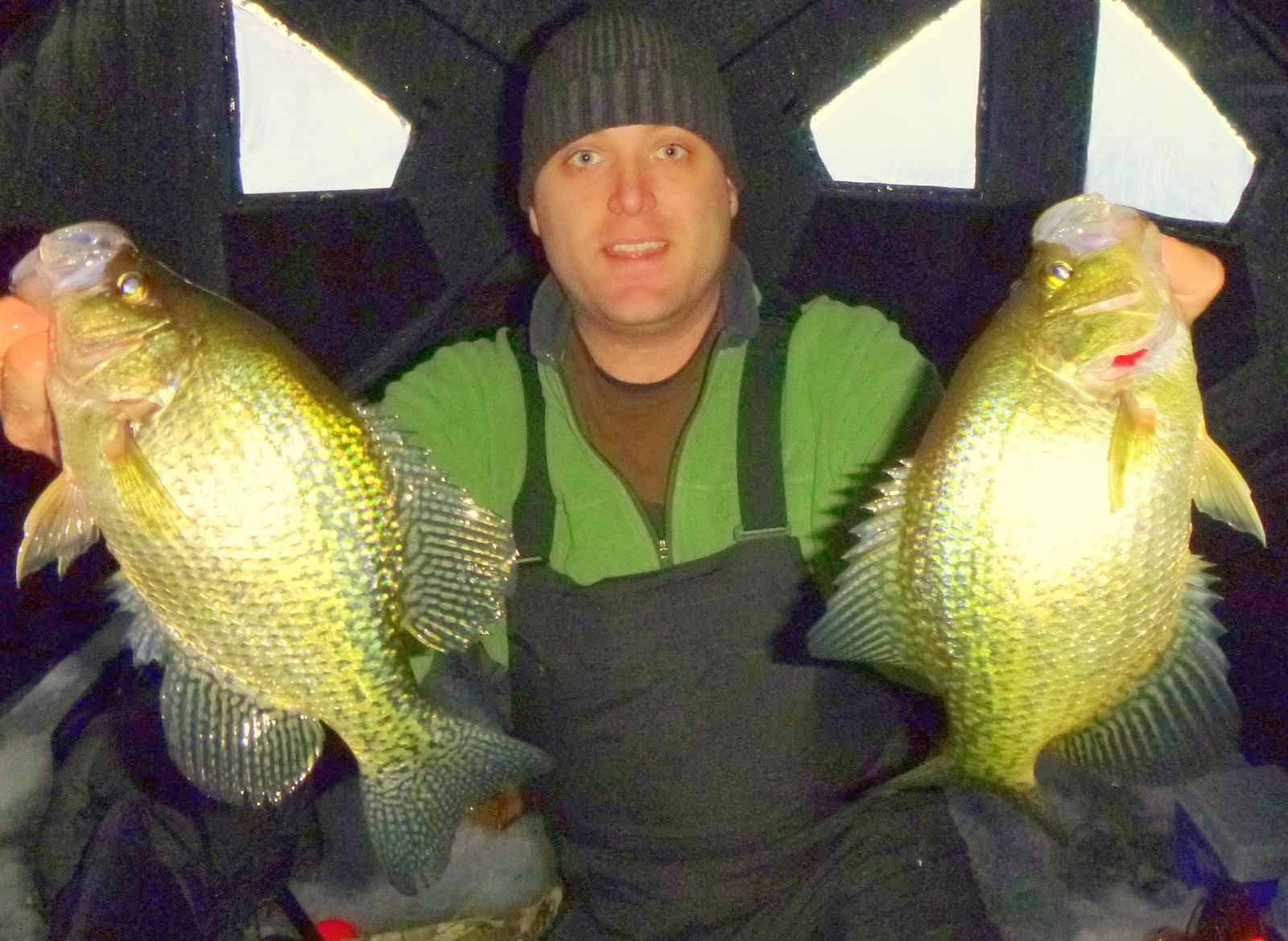 Leech Lake Crappie Double