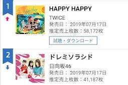 Hinatazaka46 2nd single Doremisolasido total sales first week and day