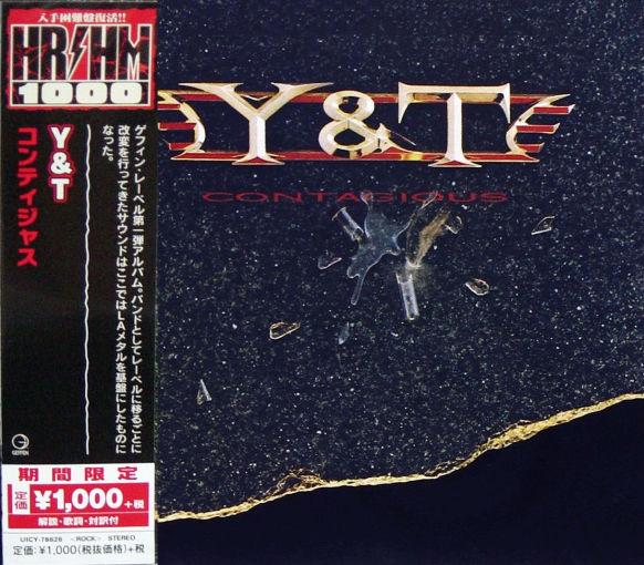 Y&T - Contagious [Japan HR/HM 1000 reissue series] (2018) full