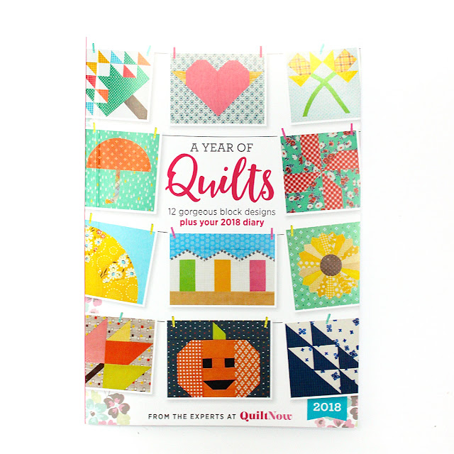 Quilt Now issue 43 bonus quilter's diary