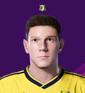 PES 2020 Faces Maxim Osipenko by Korneev