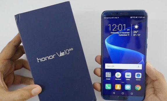 Honor View 10 hadir dengan layar sentuh LCD 5,80 inci