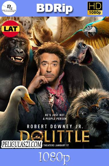 Dolittle (2020) HD BDRip 1080p Dual-Latino