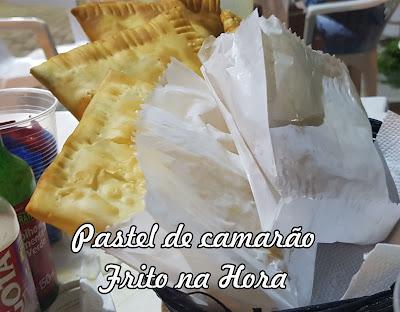PROMOÇÃO: Pastel de Camarão + Caldo de Cana