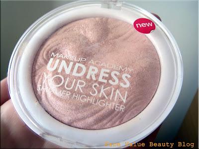 mua makeup highlighter beauty blog review