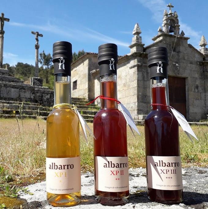 """Vinagre de autor: """"albarro"""", una nueva forma de saborear O Ribeiro"""