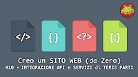 Creo un SITO WEB (da Zero) #10 ⋆ INTEGRAZIONE API e SERVIZI di TERZE PARTI