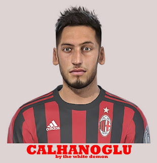 PES 2019 Faces Hakan Çalhanoğlu by The White Demon