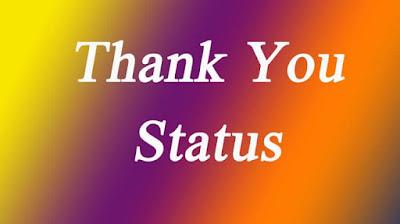 Thank You Status