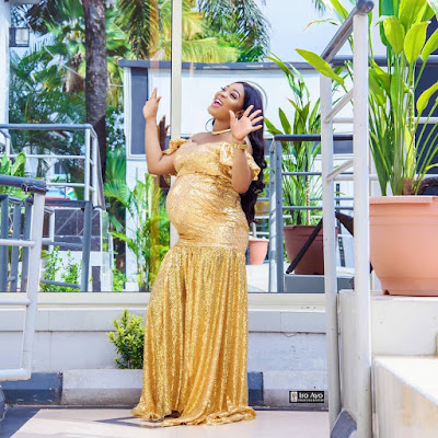 Bidemi Kosoko pregnancy shoot