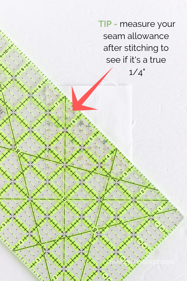 "Best Tips for New Quilters + How to find a 1/4"" seam allowance 
