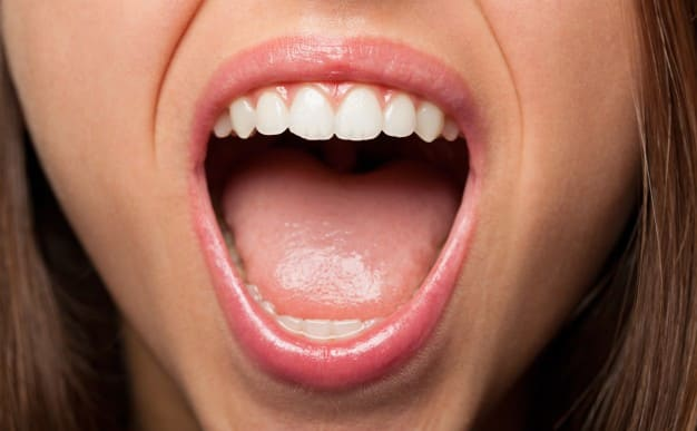 Treatment of burning mouth from the inside