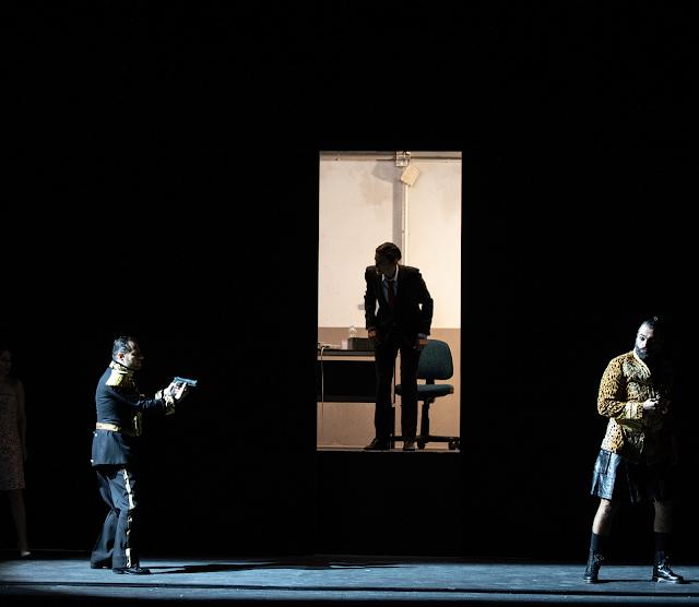 Handel: Rinaldo - Raffaele Pe, Delphine Galou, Luigi De Deonato - Opera Lombardia (Photo Alessia Santambrogio)