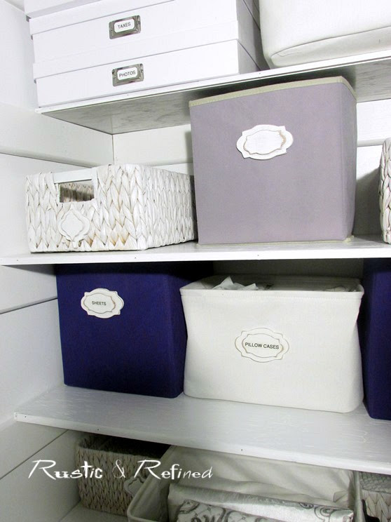 From drab to Fab How to organize your linen closet.