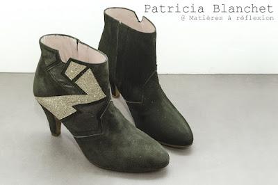 PROMO Patricia Blanchet boots kaki