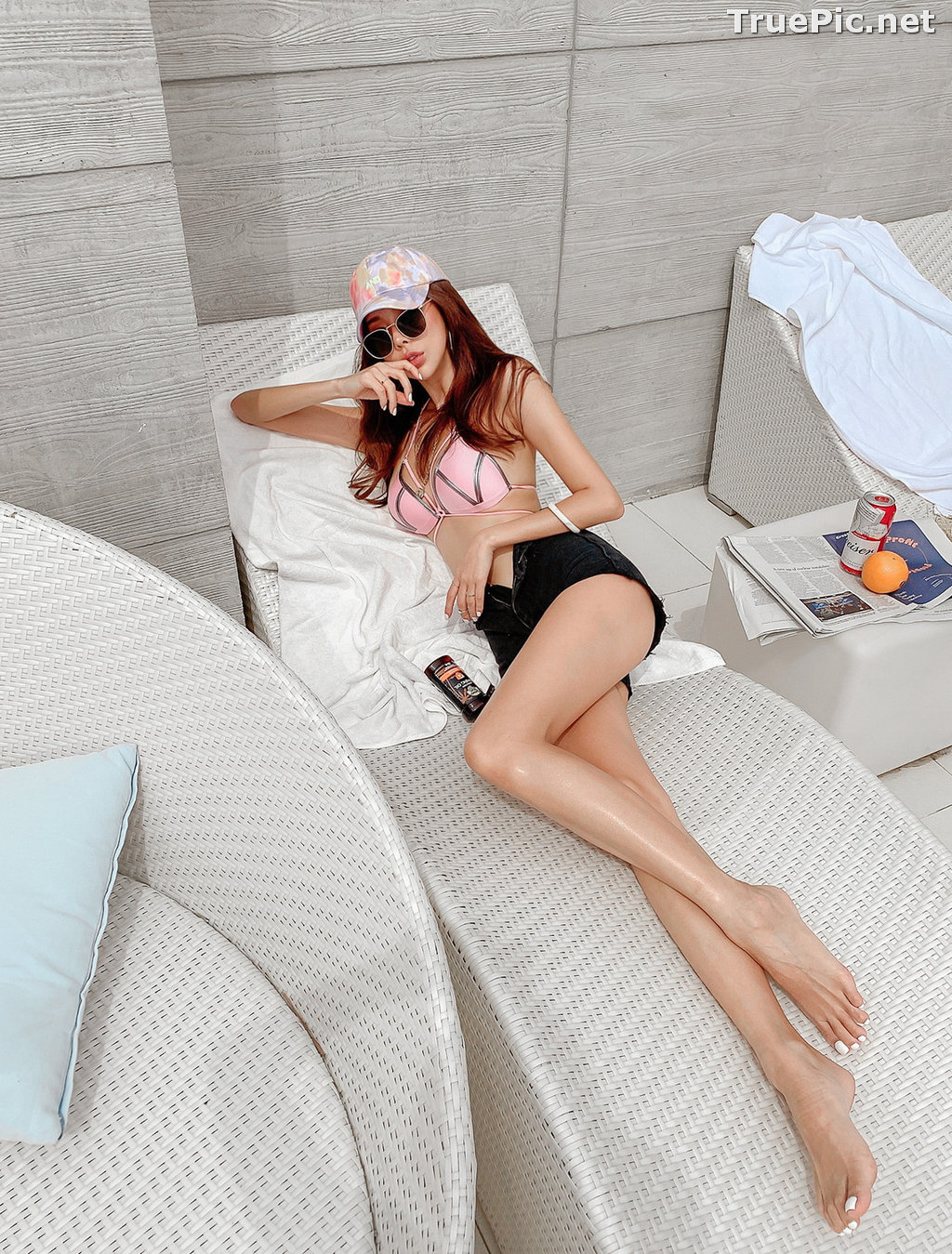 Image Korean Fashion Model - Park Da Hyun - Isabel Strap Bikini - TruePic.net - Picture-10