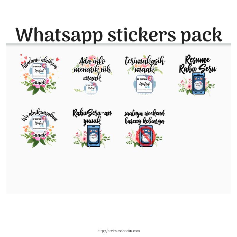Membuat Stiker Whatsapp Dunia Asti