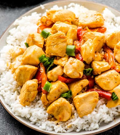 ORANGE SZECHUAN CHICKEN