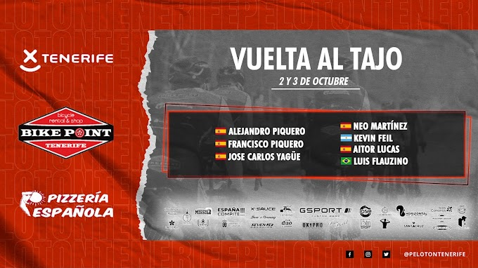 La Vuelta al Tajo despide la temporada para el Tenerife BikePoint Pizzería Española