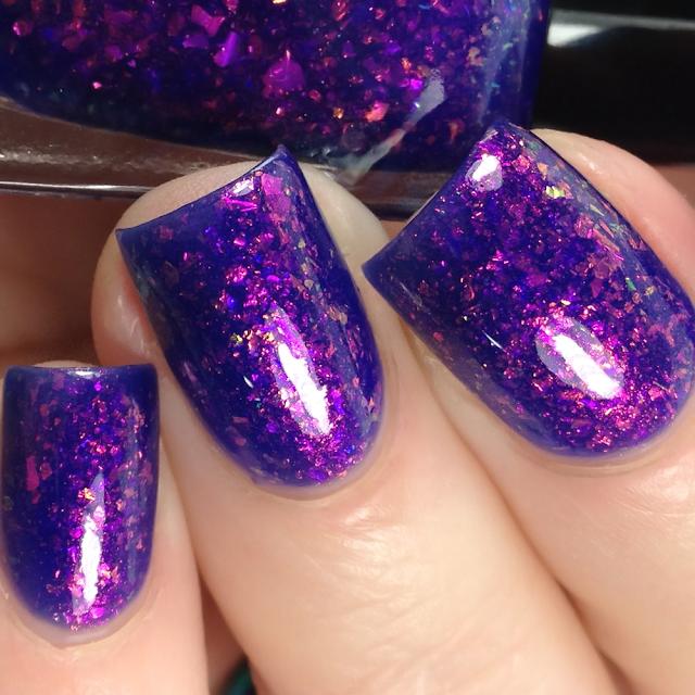 DRK Nails-Raspberry In Blue