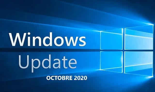 """Comment Téléchargez la mise à jour Windows 10 """"Octobre 2020""""?"""