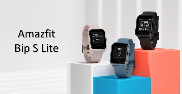 Amazfit Bip S Lite (SmartWatch) To Be Launch With 1.28inch Colour Touch Display, 30 Days Battery Life & More