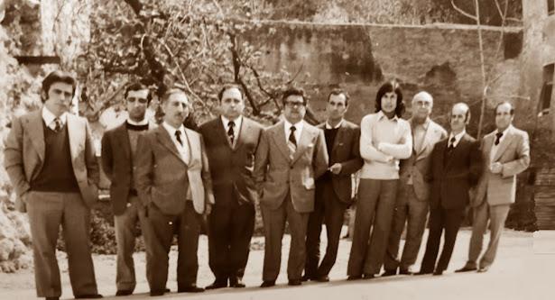 Equipo de ajedrez del Tortosa en 1977